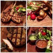 【食】肉汁豐富 肉質嫩滑 美國穀飼豬斧頭扒|荃灣 Ruby Tuesday