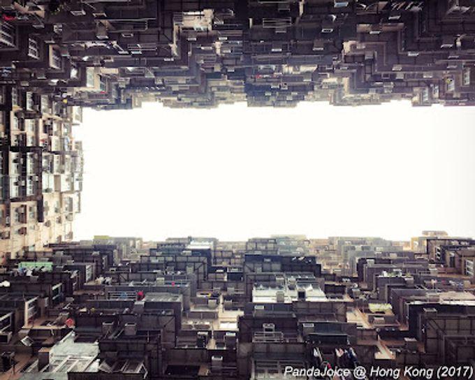 香港春游 @ 鰂魚涌怪獸大厦的誘惑