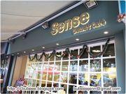 是日好吃:Sense Dessert Café @ Yuen Long ♥ 盆栽提拉米蘇 ♥ 綠茶心太...