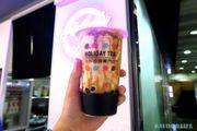 [KJFOODLIFE 佐敦] 茶樂限時優惠 琥珀珍珠撞奶