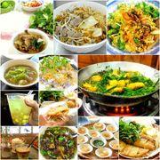 河內:本地美食 - Bún Chả Hàng Mành Đắc Kim烤肉Bun cha,Miến Lươn ...