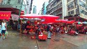 港島遊 筲箕灣 金華街 露天 街市 特色濕貨市場 東大街 電車總站
