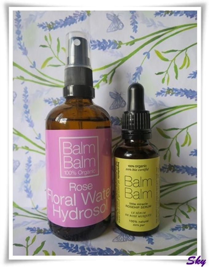 保濕孖寶 - Balm Balm 玫瑰滋潤醒膚液和奇蹟玫瑰果油精華液