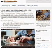 CNCKingdom Origami Interview (March 4, 2014)