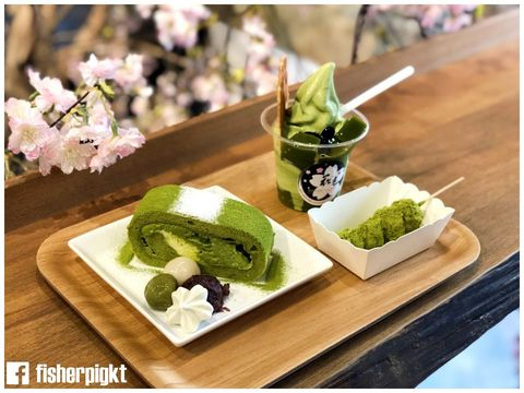 【柴犬造型日式甜點超療癒】花見宇治抹茶甘味処 @ 台南中西區