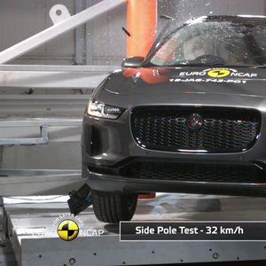 Jaguar I-Pace со максимални ѕвезди на EuroNCAP тестот