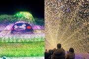名花之里 冬季期間限定 日本最大型燈海 熊本部長主題
