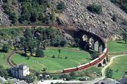 伯爾尼納 Bernina 火車之旅