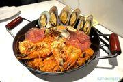 [KJFOODLIFE 尖沙咀] 大大鑊西班牙炒飯 芝士煎蟹餅