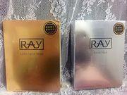 RAY MASK 妝蕾®玫瑰純露野麥仁面膜: 滋潤美白必備
