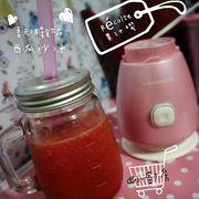【Récolte Solen 果汁機 珍珠粉紅】 西瓜沙冰