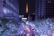 東京大型燈飾 120萬粒LED燈 六本木 Roppongi Hills Artelligent Christma...