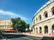■ 南法自駕遊.去Arena Nîmes尼姆競技場看朱利安多雷演唱會