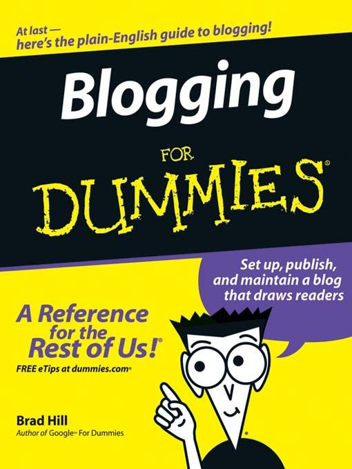 [Image: Blogging+for+Dummies.jpg]