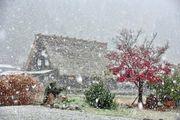 北陸人氣合掌村 白川鄉迎來第一場雪!初雪の白川郷 附交通攻略教學