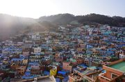 [釜山景點] 最期待的釜山景點 甘川洞文化村 遍佈山頭的彩虹屋仔
