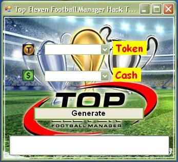 Top eleven football manager hack free Token