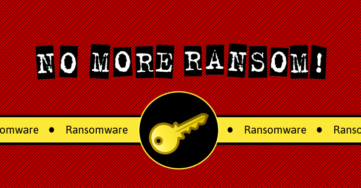 No More Ransom — 15 New Ransomware Decryption Tools Available for Free