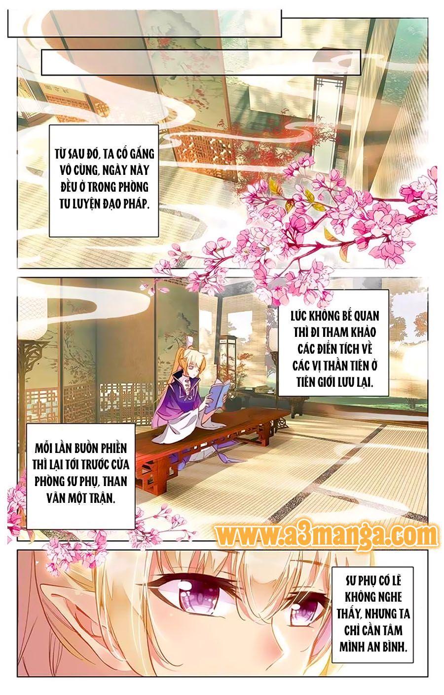 Tam Sinh Tam Thế Thập Lý Đào Hoa Chap 9.2