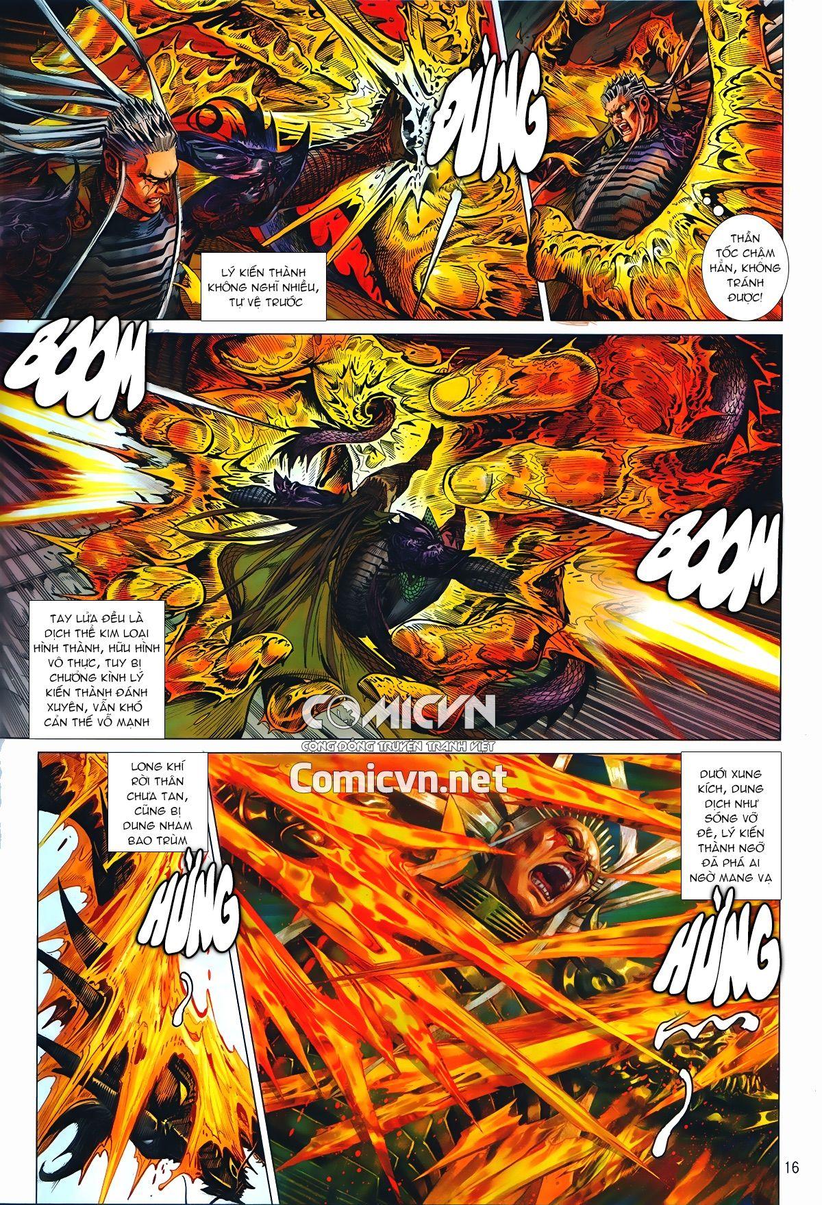 Thiết Tướng Tung Hoành Chap 241