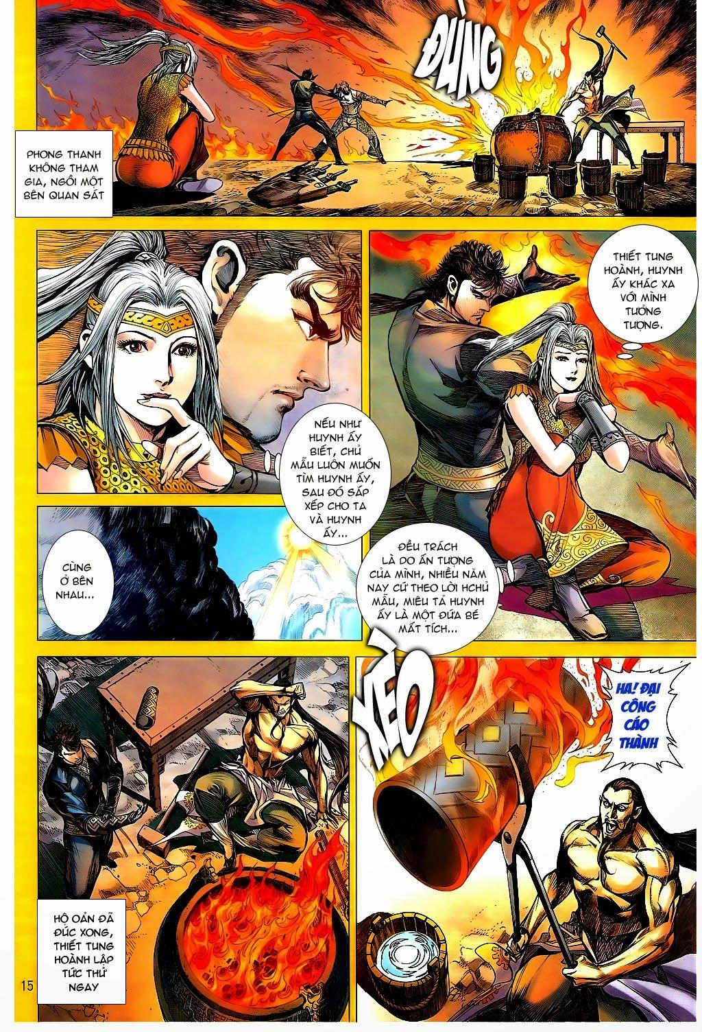 truyện tranh thiết tướng tung hoành Chapter 94/