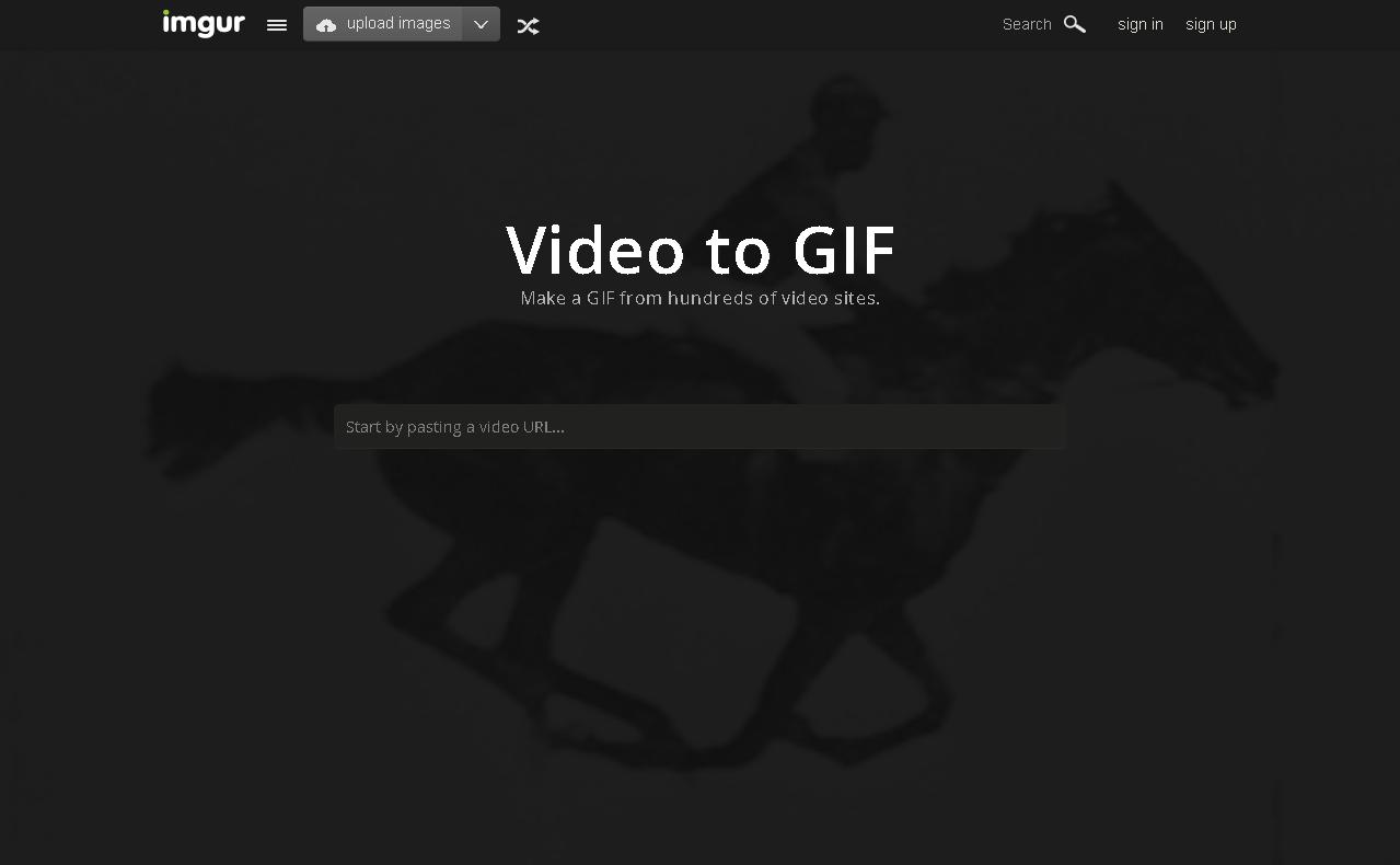 免费在线 GIF 图片制作工具汇总