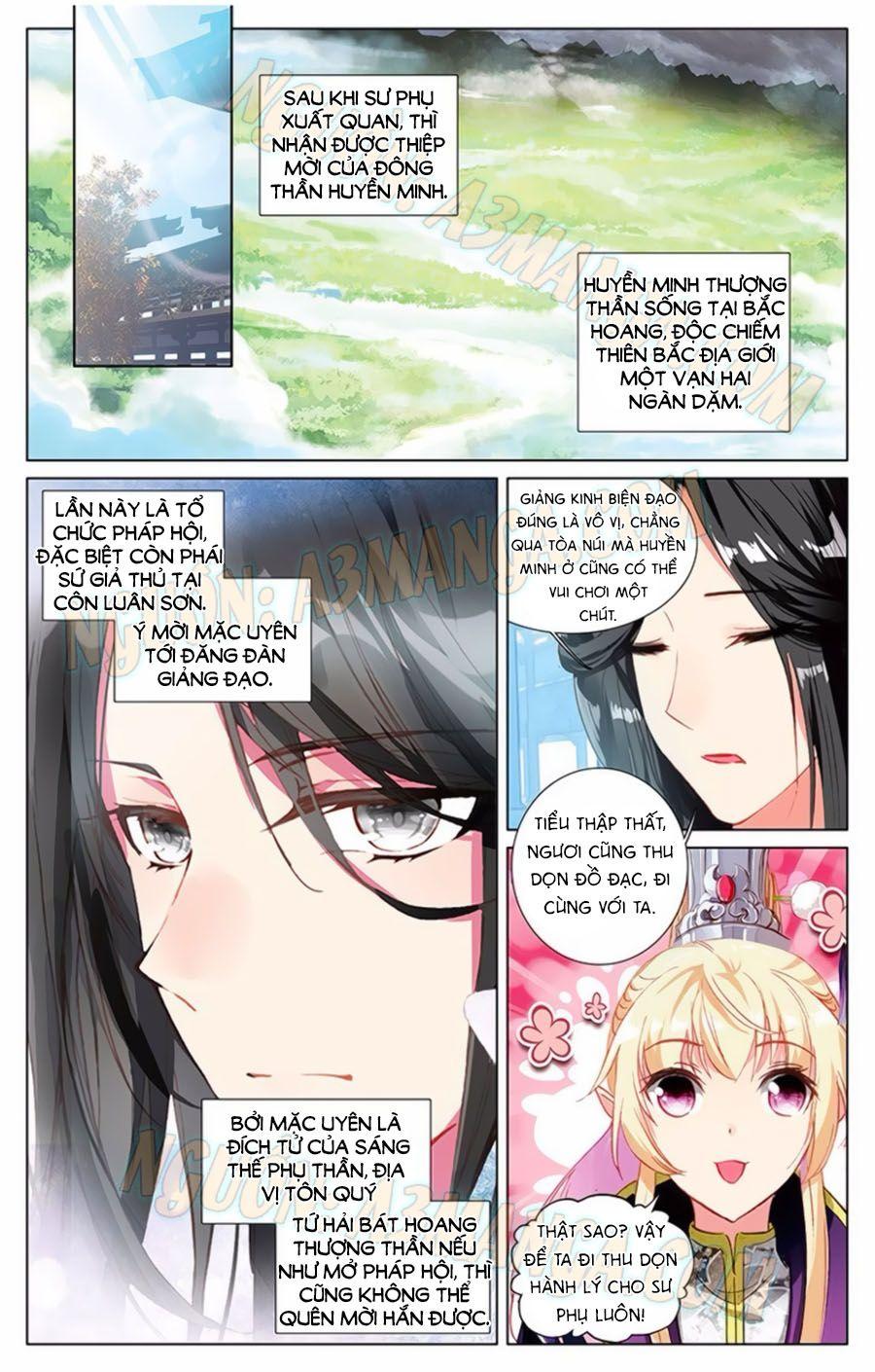 Tam Sinh Tam Thế Thập Lý Đào Hoa Chap 12.2