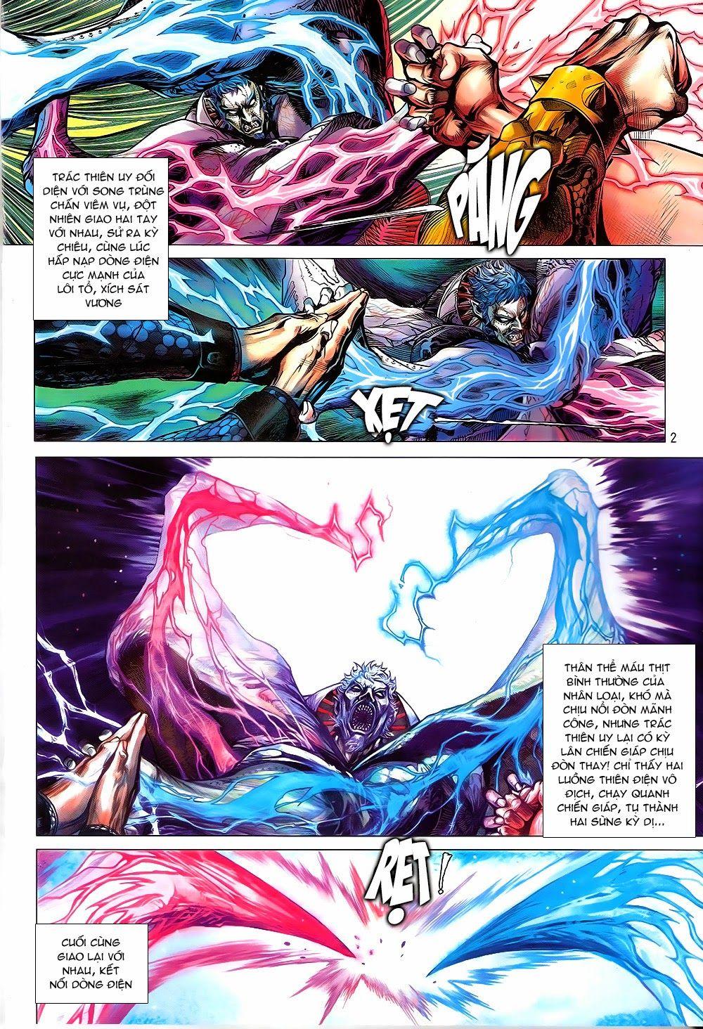 truyện tranh thiết tướng tung hoành Chapter 83/