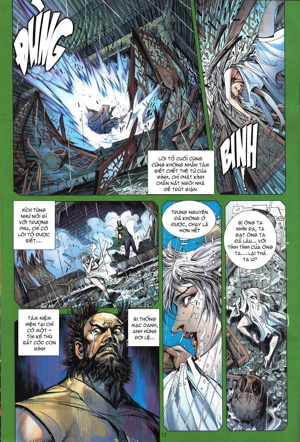 truyện tranh thiết tướng tung hoành Chapter 60/