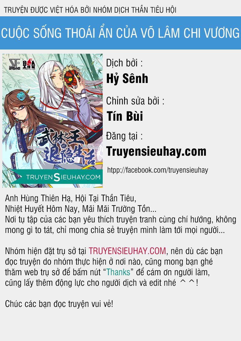 Cuộc Sống Thoái Ẩn Của Võ Lâm Chi Vương - Chap 20