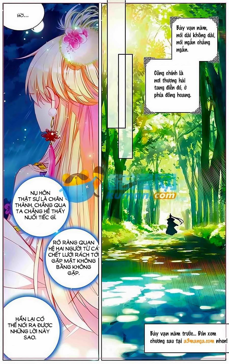 Tam Sinh Tam Thế – Thập Lý Đào Hoa – Chap 7.1