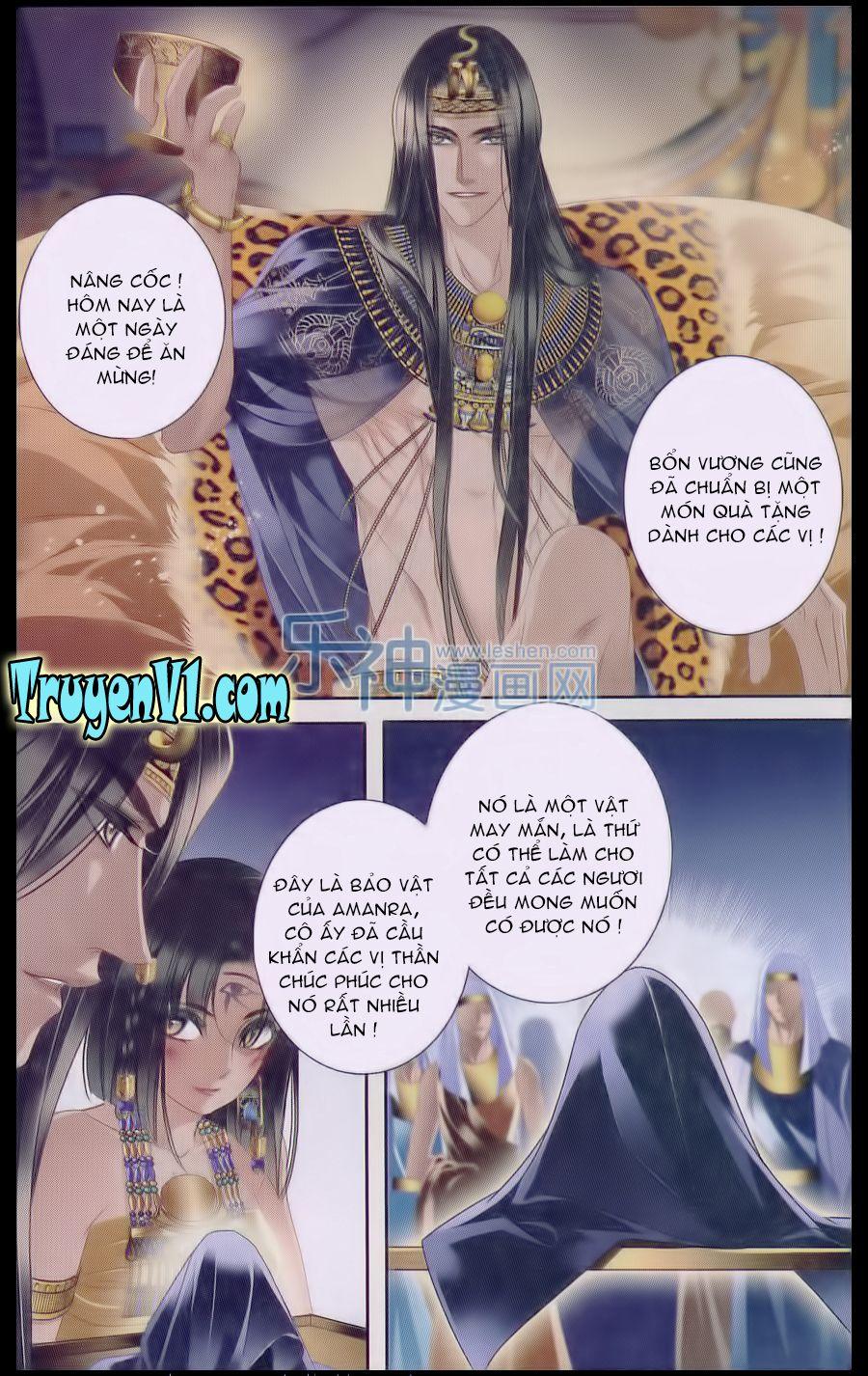 a3manga.com Sủng Phi Của Pharaoh Chap 18