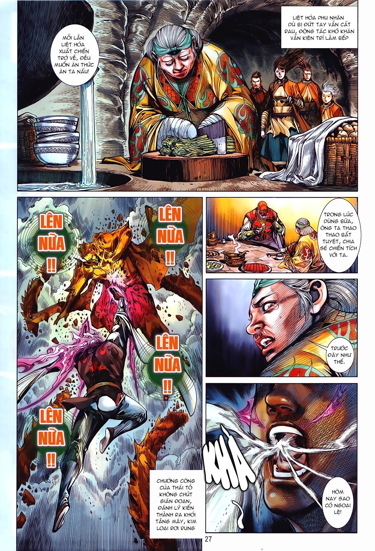 Thiết Tướng Tung Hoành Chap 241.2