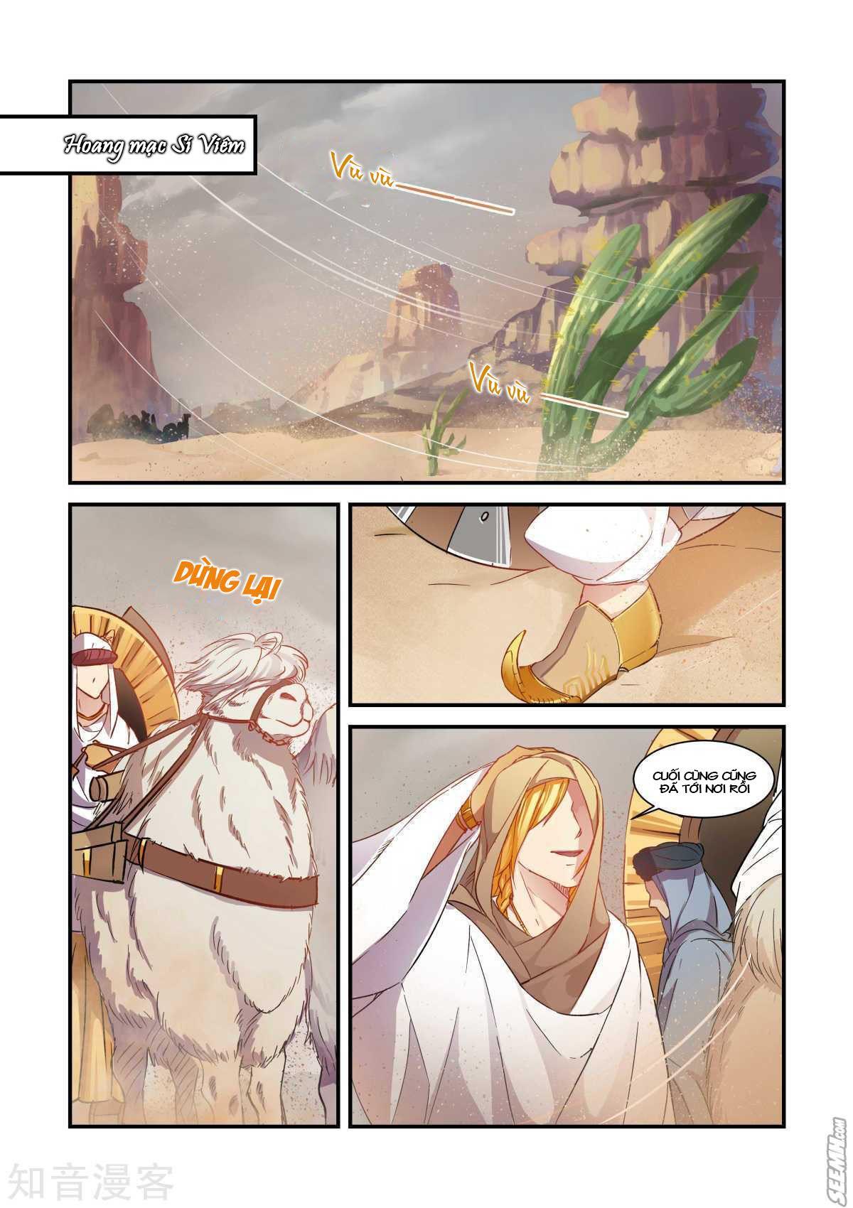 Trái Tim Hoang Dã chap 42 - Trang 9