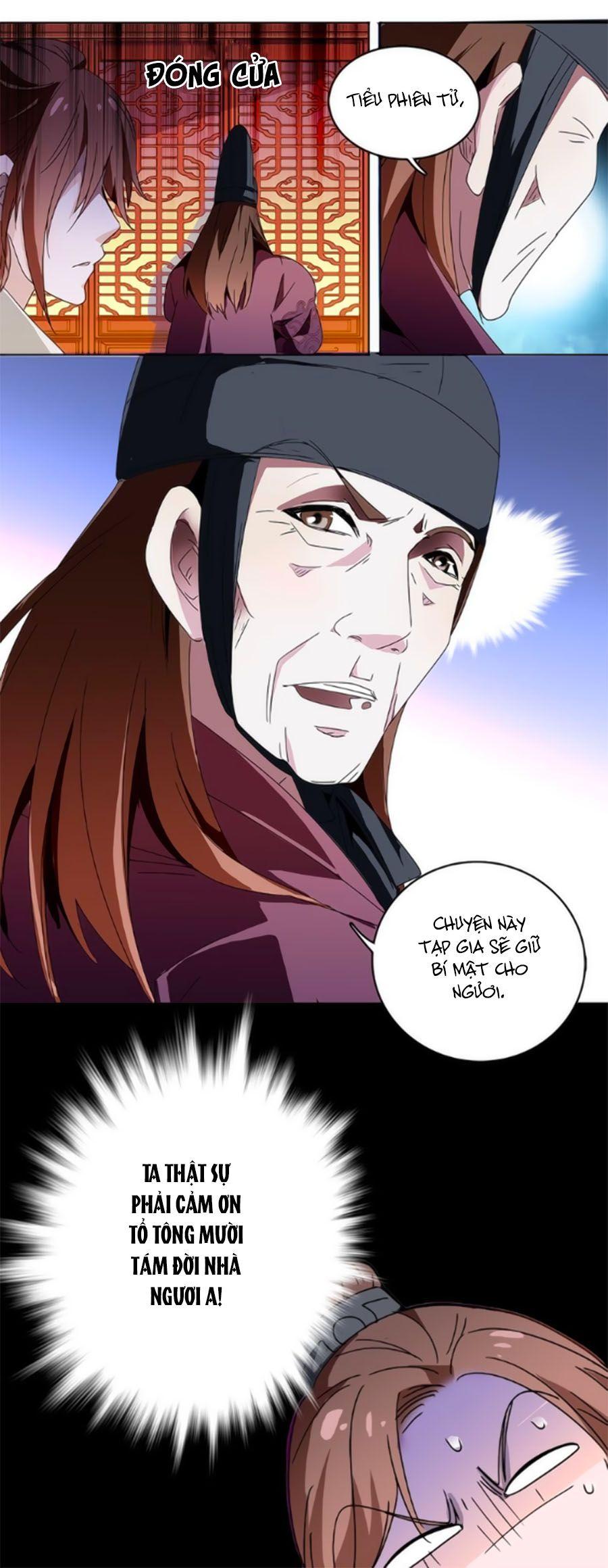 Hoàng Thượng! Hãy Sủng Ái Ta Đi! Chap 13