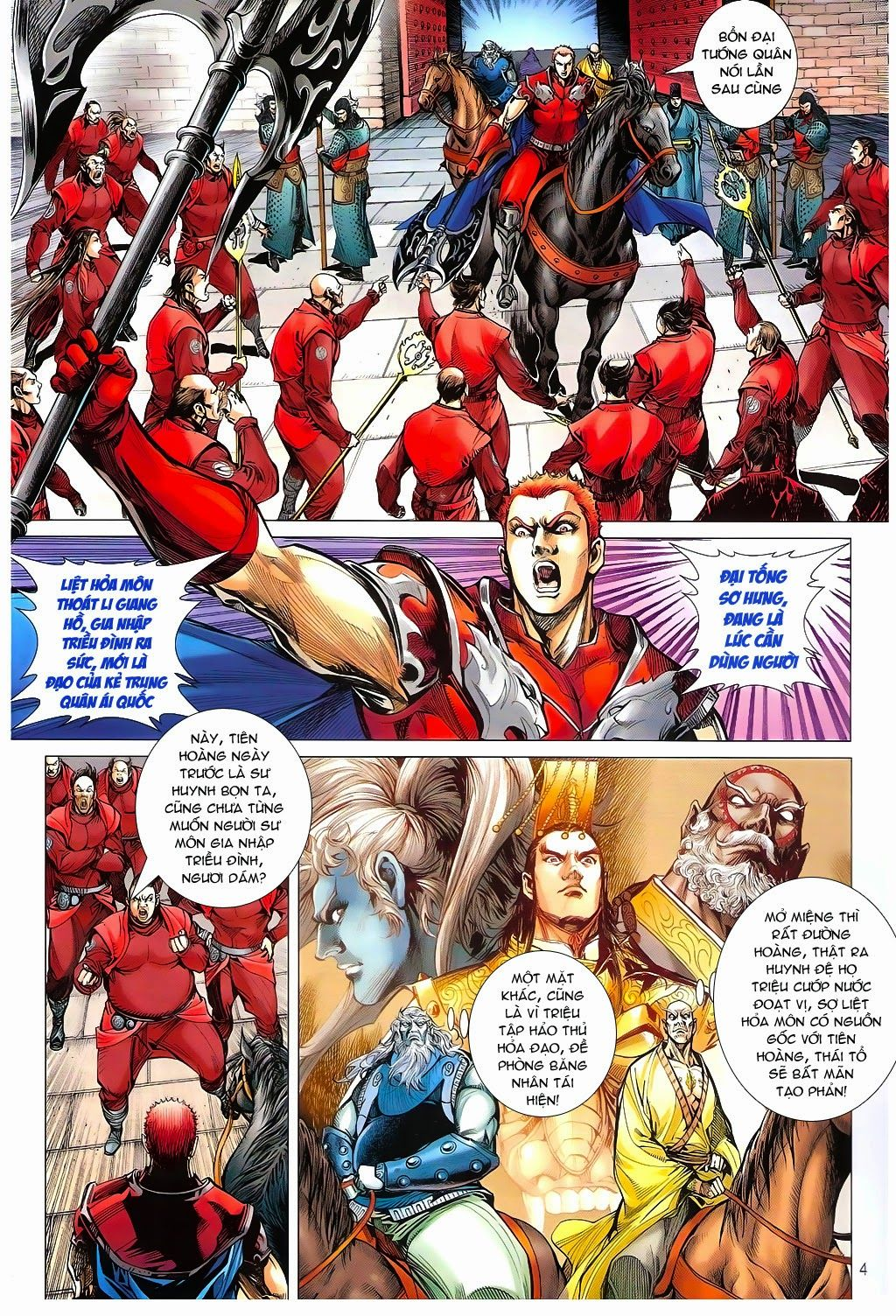 truyện tranh thiết tướng tung hoành Chapter 96/
