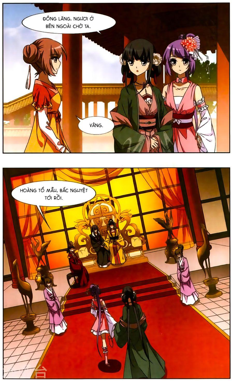 Phượng Nghịch Thiên Hạ Chap 106