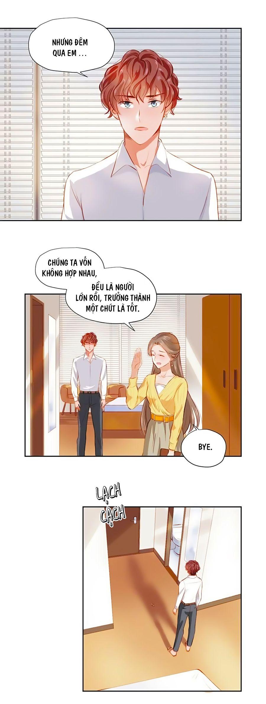 Khi Trá Luyến Nhân chap 3 - Trang 15