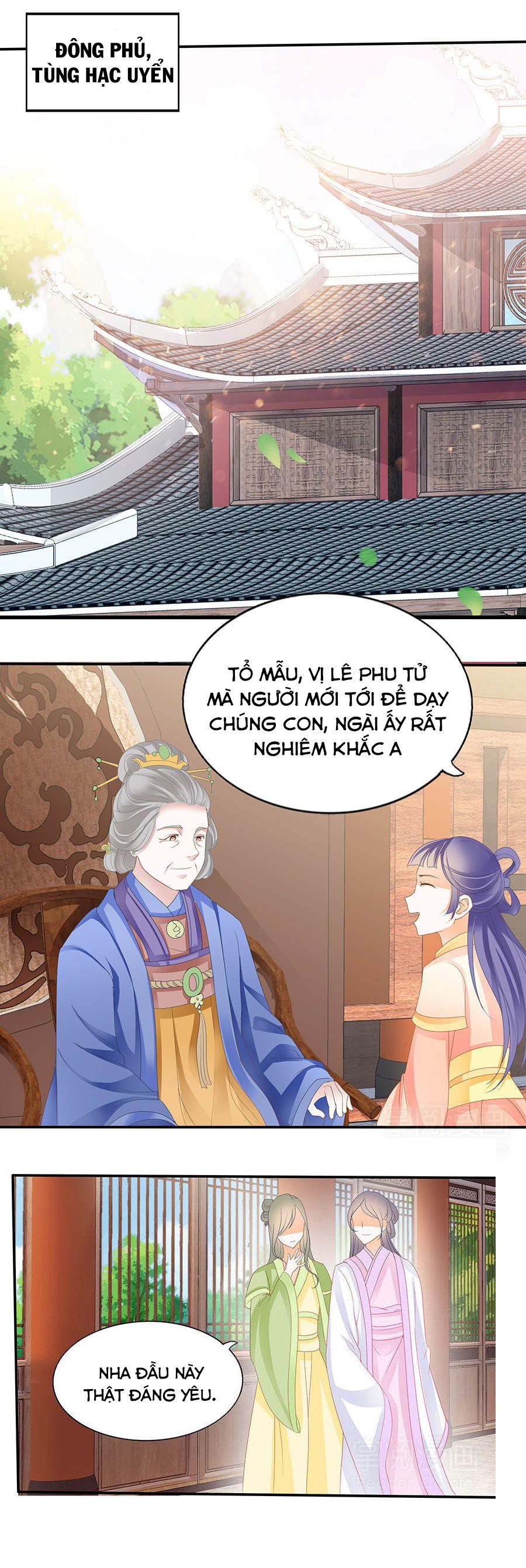 Vương Phi Lại Hạ Độc Rồi - Chap 9