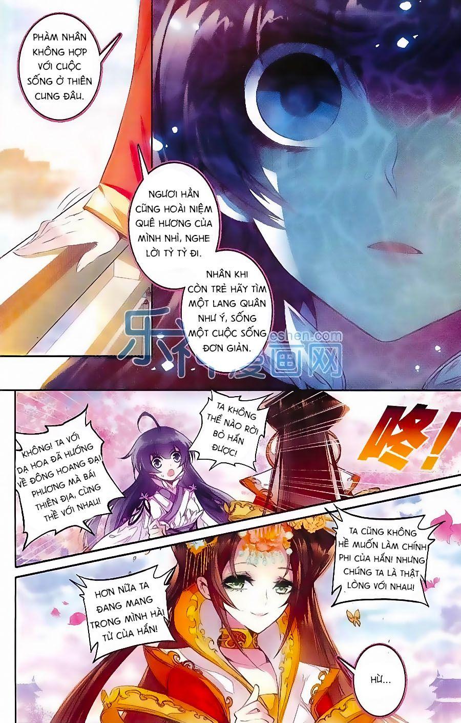 Tam Sinh Tam Thế – Thập Lý Đào Hoa Chap 3