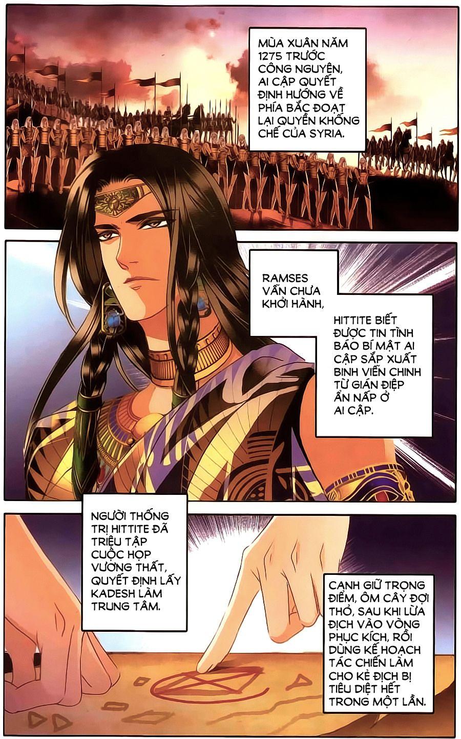 Sủng Phi Của Pharaoh – Chap 62