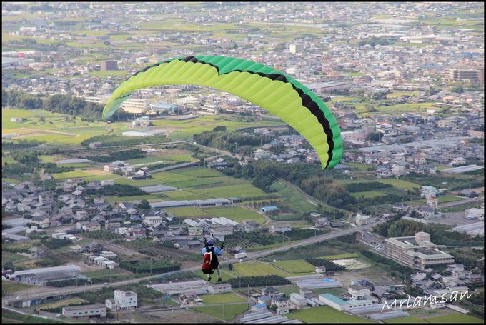 和歌山 深度遊 300米山頂一飛衝天 體驗滑翔傘 Up PARAGLIDER SCHOOL 紀の川