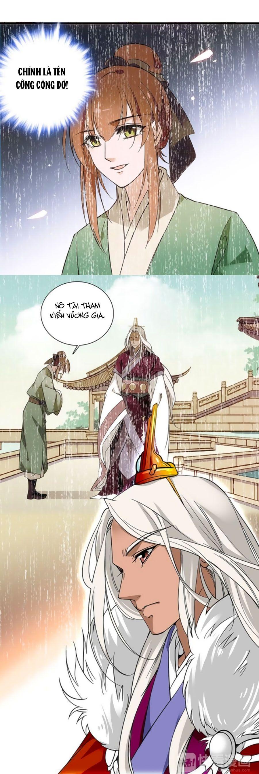 Hoàng Thượng! Hãy Sủng Ái Ta Đi! Chap 34