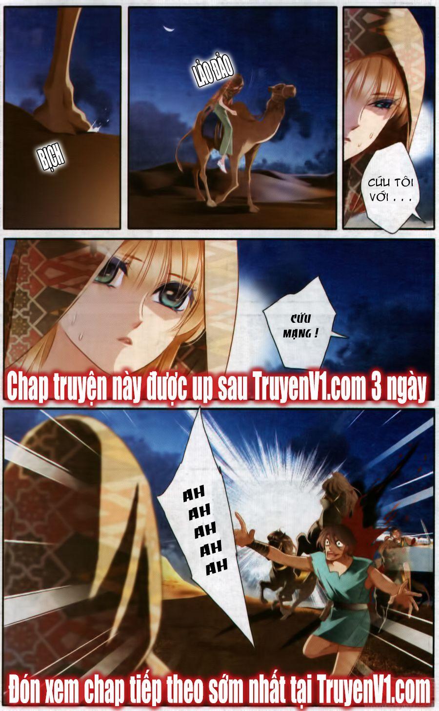 Sủng Phi Của Pharaoh Chap 54.1