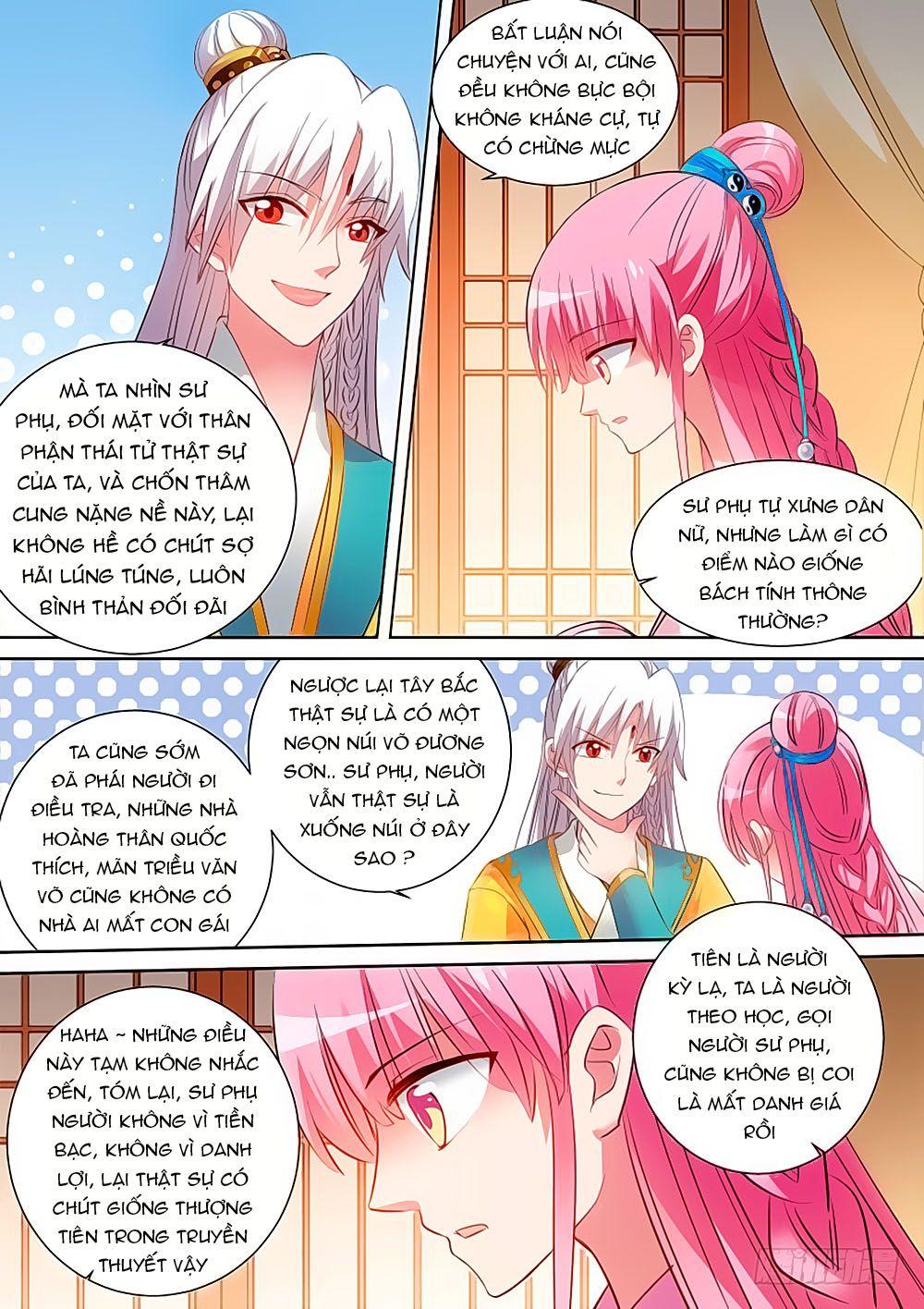 Hệ Thống Chế Tạo Nữ Thần chap 98 - Trang 6