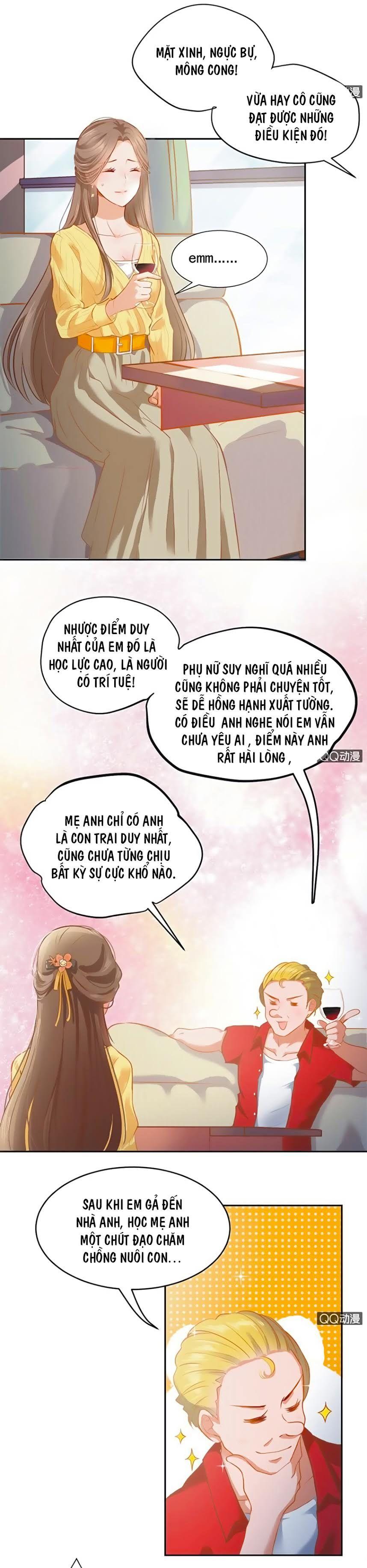 Khi Trá Luyến Nhân chap 1 - Trang 8