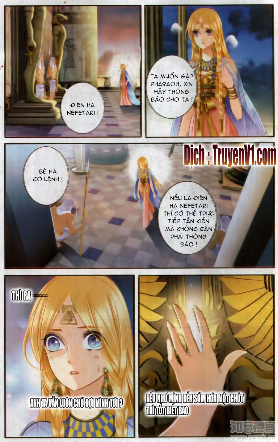 Sủng Phi Của Pharaoh Chap 48.1