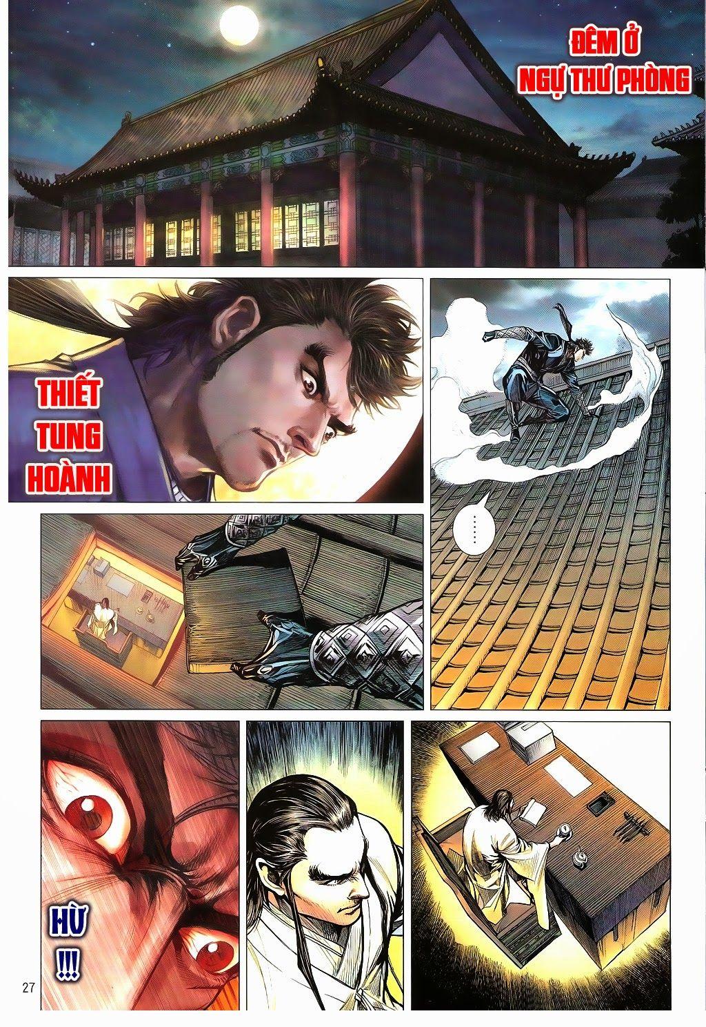 truyện tranh thiết tướng tung hoành Chapter 92/