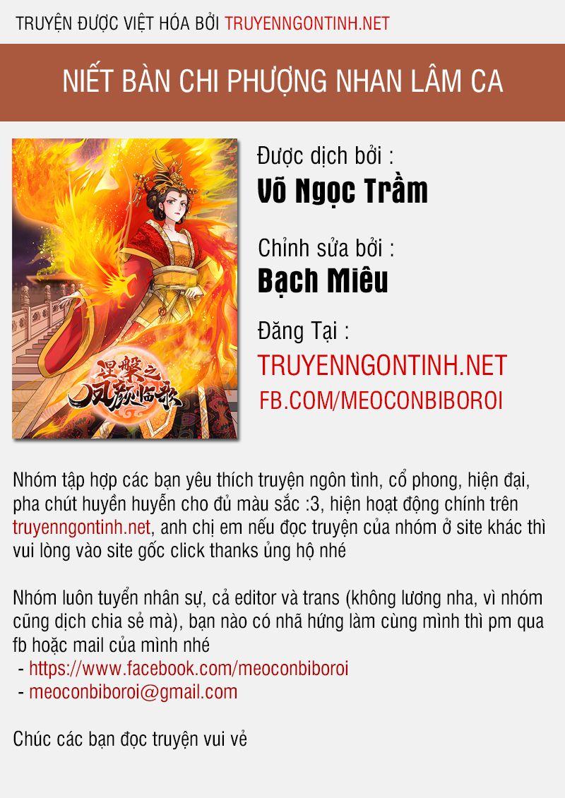 Niết Bàn Chi Phượng Nhan Lâm Ca chap 6 - Trang 1