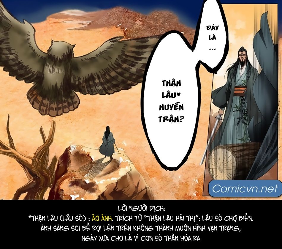 Thiên Cơ Lệnh - Chap 8